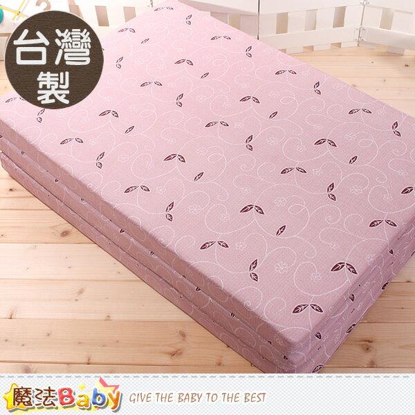 台灣製單人3x6尺雙面布透氣床墊 魔法Baby~u2317