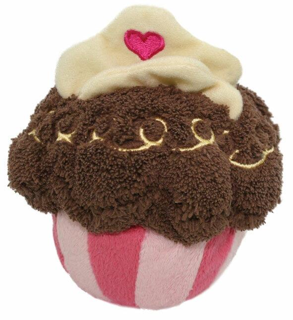 [ Perlapets普樂?寵物精品館 巧克力蛋糕(狗玩具)
