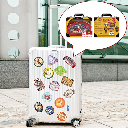 【MILU DESIGN】行李箱貼紙>>台灣旅行回憶防水貼紙 A ★GREAT! TAIWAN TRAVEL STICKER★