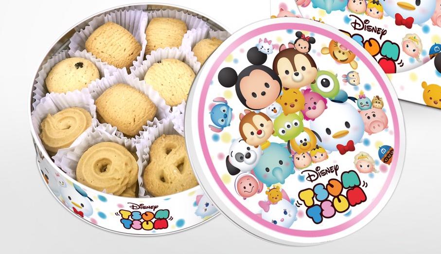 有樂町進口食品 迪士尼奶油餅乾禮盒 秋節獻禮 另有販售冰雪奇緣奶油餅乾禮盒 M145 4897047802751