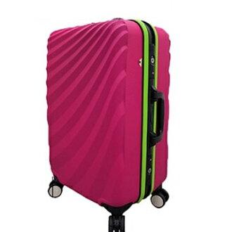 [Leadming] TSA海關鎖水波光影24吋行李箱~鋁框~超低價~有三色可選~!