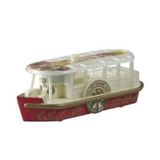 【真愛日本】15111400036 DN樂園小車-15聖誕海洋輪船 迪士尼  聖誕節限定 小車 模型