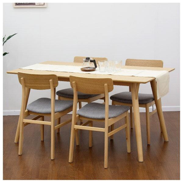 ◎(OUTLET)餐椅兩件組 FILLN3 LBR / GY 45cm 福利品 NITORI宜得利家居 4