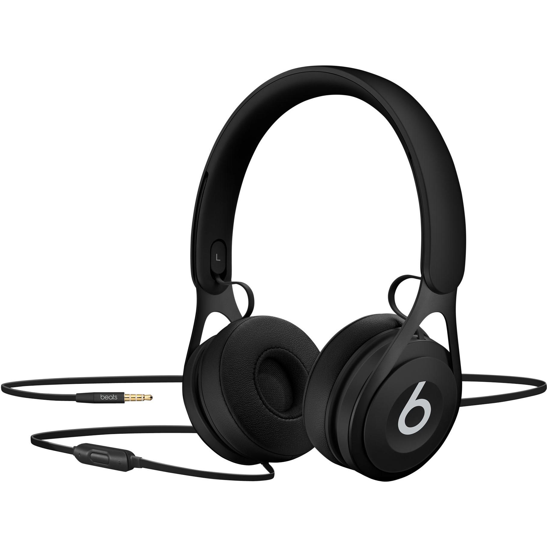 Beats by Dr. Dre EP On-Ear Headphones - Black - Stereo - Black - Mini-phone - Wired - Over-the-head - Binaural - Supra-aural 0