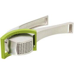 《TK》刮刀式壓蒜器(綠)