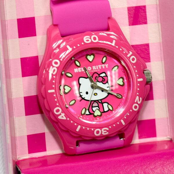 HelloKittyCITIZEN粉色粉底星辰錶氣壓防水指針式手錶日本限定附精美禮盒