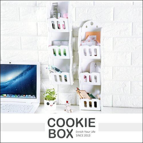 創意 居家 簍空 木塑板 置物架 壁掛架 牆上 置物架 收納架 簡約 整理 客廳 浴室 *餅乾盒子*