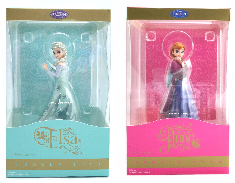 日版 Figuarts ZERO 冰雪女王 冰雪奇緣 Frozen 艾莎 安娜 Elsa Anna 公仔 一套兩款