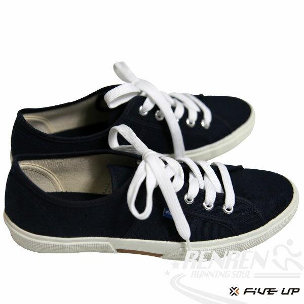 FIVEUP女簡約質感休閒帆布鞋(黑)2432200180【胖媛的店】
