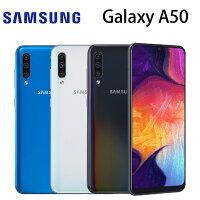 【滿$3000賺10%點數回饋,上限500點】三星 SAMSUNG Galaxy A50 6.4吋 6G/128G-白/藍/黑-銓樂3C-3C特惠商品