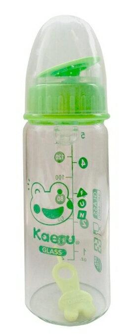 Kaeru 哈皮蛙 口徑玻璃奶瓶140ml 無盒裝