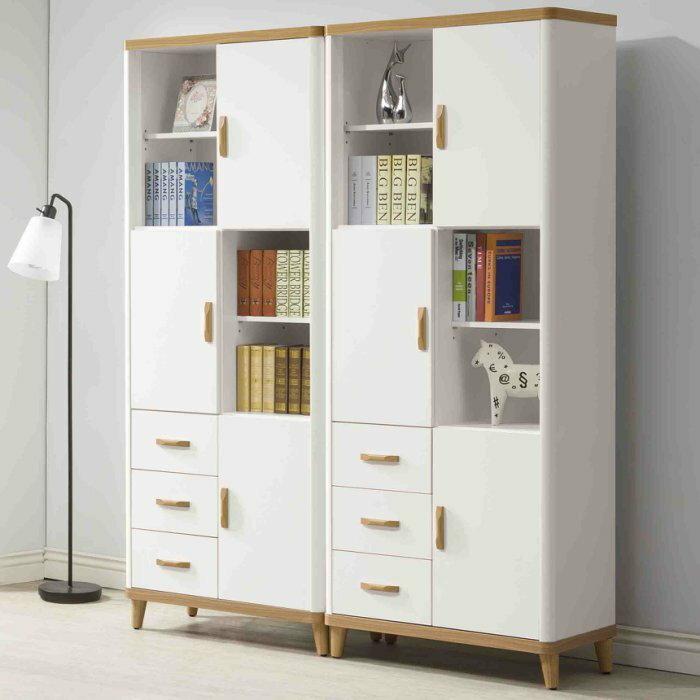 【尚品傢俱】K-403-19 2.6尺書櫃(單只)~另有5.2尺書櫃(全組)/書櫥/收納櫃/儲物櫃(EP835)