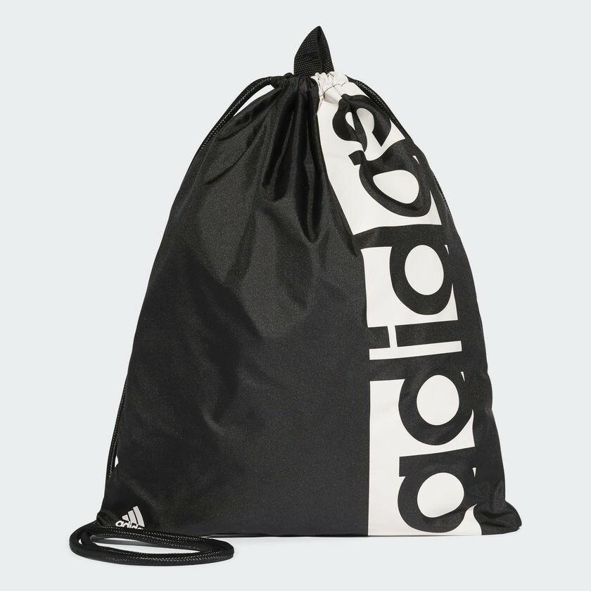 Adidas 18SS 愛迪達 束口包 輕便鞋袋 LIN PER GYM BAG系列 S99986【樂買網】
