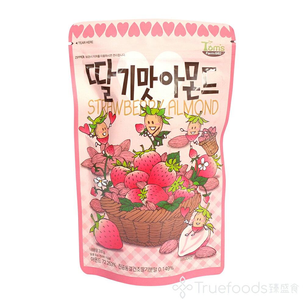 Toms Gilim草莓風味杏仁 210g 韓國 湯姆農場 堅果 家庭裝 - 限時優惠好康折扣