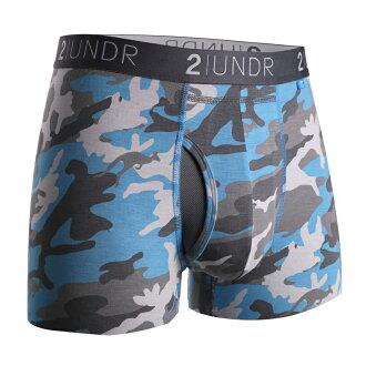 2UNDR【SWING SHIFT】男性内著 Ice Camo (3吋)