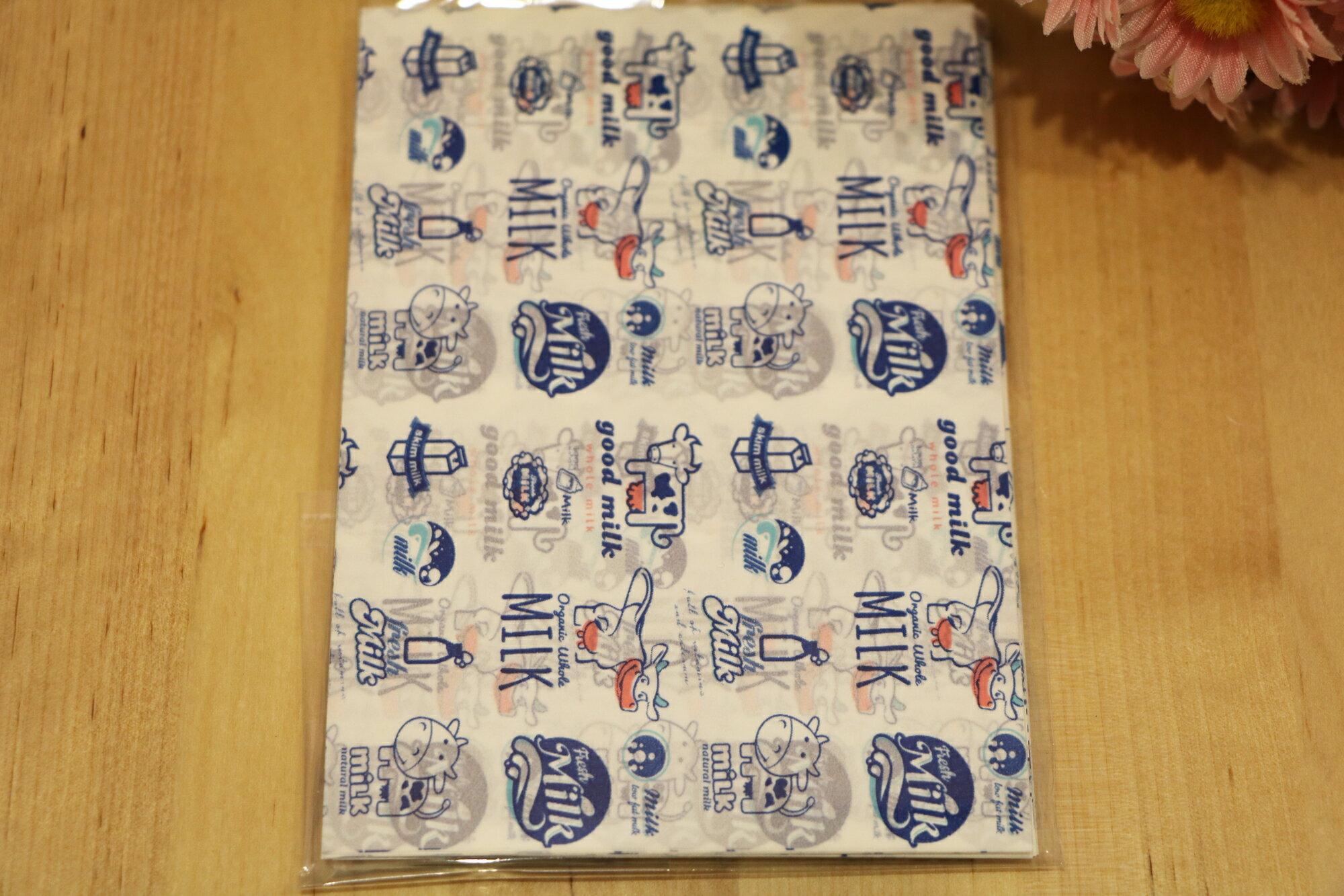 可愛小牛-糖果/牛奶糖/牛扎糖包裝紙( 100入)