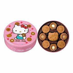 有樂町 中秋歷年暢銷款 超可愛Kitty造型巧克力餅乾禮盒