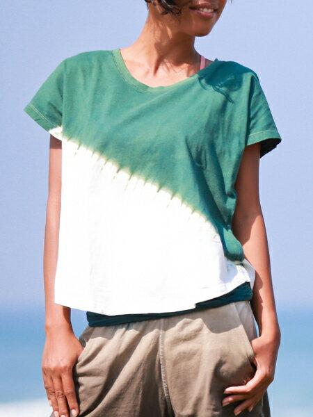 【Bali】100%有機棉IkatT恤 瑜珈服 0