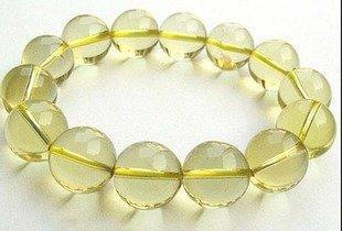 黃水晶手鏈 黃色水晶手鏈 黃水晶手鏈水晶手鏈