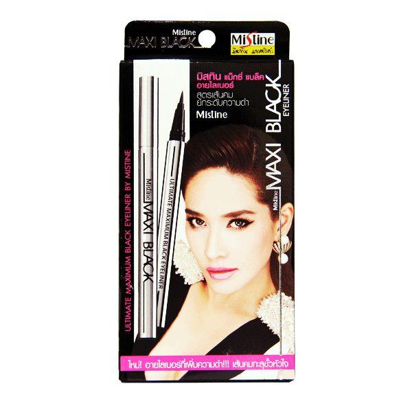 泰國 Mistine MAXI Black 魅力四射全效眼線液筆 1g《Belle倍莉小舖》