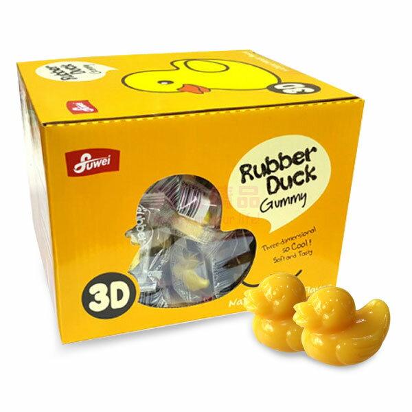 韓國超人氣 黃色小鴨3D軟糖 (芒果)  7g/單小包★504g/盒 黃色小鴨軟糖 芒果軟糖【特價】§異國精品§