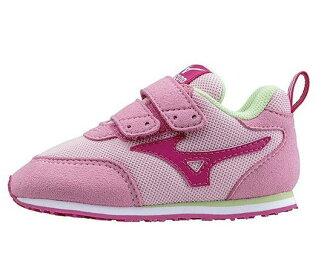 [陽光樂活] MIZUNO 美津濃 兒童運動鞋 幼兒鞋 TINY RUNNER III K1GD153260 粉紅