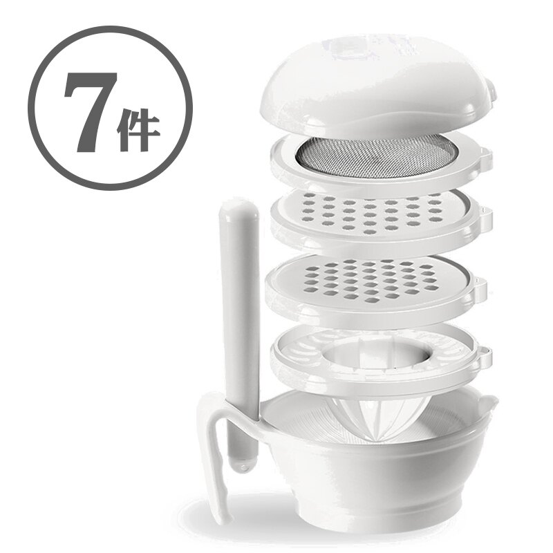 嬰兒副食品調理器 食物研磨器七件組 嬰兒用品 RA00121 0