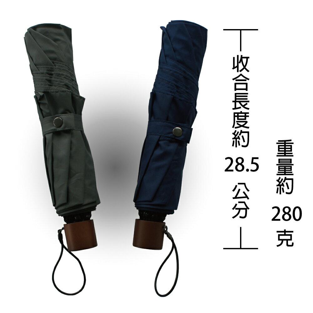 (輕量反向傘) 超輕大傘面紳士晴雨傘《2色》【RainColor】 2