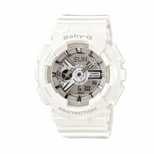 CASIO BABY-G/潮流尖端雙顯運動腕錶/BA-110-7A3DR