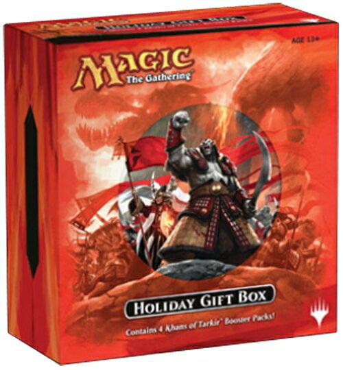 【Playwoods】[MTG魔法風雲會]KTK韃契可汗:英文 節慶禮盒Tarkir Holiday Gift Box (內含KTK補充包-精美超值-萬智牌-限量禮盒-卡片遊戲)