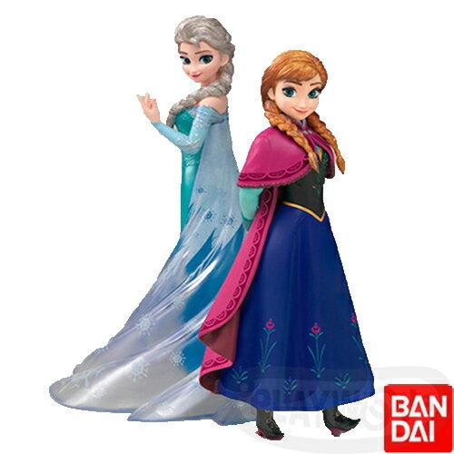 【【Playwoods】[冰雪奇緣FROZEN] Figuarts Zero 艾莎&安娜Elsa&Anna (免運/冰雪女王/漢斯/雪寶/雪雕/故事/童話/娃娃/Doll/DISNEY/公主/迪士尼/音樂奇幻喜劇/萬代/BANDAI/代理)