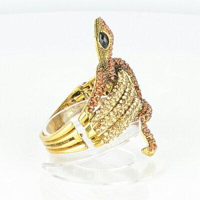 【Barocco Nuts】[手環]派對系列:褐色古金 音韻舞蛇-夾式手鐲 首飾/手飾(PARTY女王嚴選/時尚/潮流)