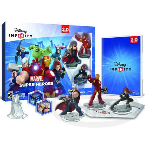 【Playwoods】[XboxOne遊戲]迪士尼無限世界2.0:漫威超級英雄新手入門包Disney Infinity Marvel Super Hero Starter Pack免運(英文亞版/動作冒險/保護級/鋼鐵人/浩克/黑寡婦/索爾/鷹眼/美國隊長/星際特攻隊)
