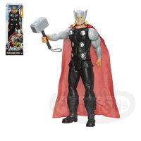 漫威英雄Marvel 周邊商品推薦【Playwoods】[復仇者聯盟2]12吋人物經典款]:雷神索爾 Thor(孩之寶Hasbro/MARVEL漫威/Avengers)