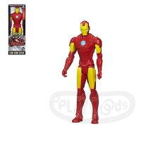 漫威英雄Marvel 周邊商品推薦【Playwoods】[復仇者聯盟2]12吋人物經典款:鋼鐵人 Iron Man(孩之寶Hasbro/MARVEL漫威/Avengers/東尼)