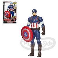 美國隊長周邊商品推薦【Playwoods】[復仇者聯盟2]12吋人物聲光遊戲組:美國隊長 Captain America TITAN HERO TECH (孩之寶/漫威)