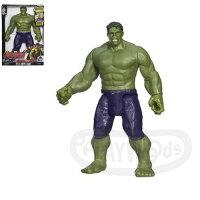 漫威英雄Marvel 周邊商品推薦【Playwoods】[復仇者聯盟2]泰坦系列:12吋聲光人物遊戲組 綠巨人浩克 Hulk(孩之寶Hasbro/MARVEL/輻射)