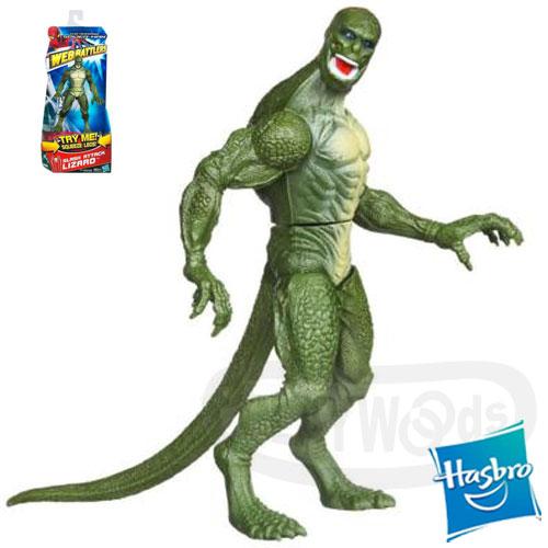 【Playwoods】[蜘蛛人Spider Man]驚奇再起:猛爪蜥蜴人/蜥蜴博士Slash Attack LIZARD 6吋人物組(驚奇/蜘蛛人3/MARVEL/電影版)