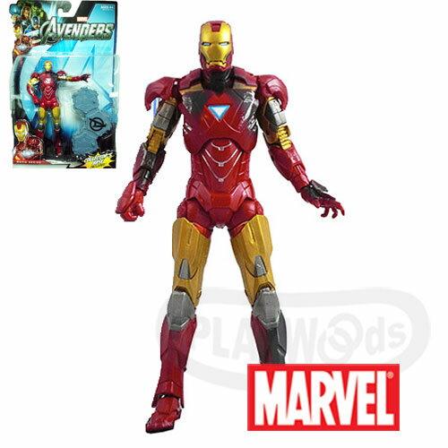 【Playwoods】[Marvel復仇者聯盟Avengers]6吋電影人物組:鋼鐵人戰損版Iron Man馬克六號 電影系列Movie Series(驚奇英雄Marvel超人/鋼鐵人3/Iron M..