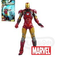 漫威英雄Marvel 周邊商品推薦【Playwoods】[Marvel復仇者聯盟Avengers]6吋電影人物組:鋼鐵人戰損版Iron Man馬克六號 電影系列Movie Series(驚奇英雄Marvel超人/鋼鐵人3/Iron Man3)