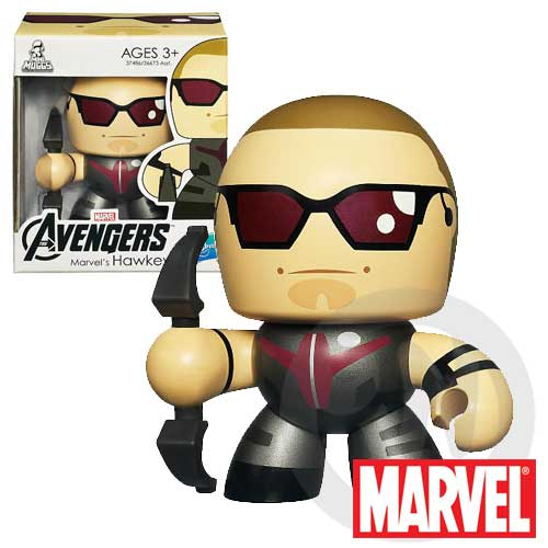 【Playwoods】[復仇者聯盟Avengers]Mini Muggs-酷版 神箭 鷹眼Hawkeye迷你 公仔(現貨-驚奇英雄Marvel超人/鋼鐵人3/Iron Man3)