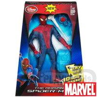 漫威英雄Marvel 周邊商品推薦【Playwoods】[蜘蛛人Spider Man]驚奇再起:背包 絲彈衝擊波Web Blast 12吋 音效人物組Disney Store(驚奇/MARVEL/電影版)