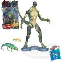 漫威英雄Marvel 周邊商品推薦【Playwoods】[漫威MARVEL Spider Man] 6吋蜘蛛人:蜥蜴博士之爬蟲大軍The Lizard : With Reptile Sidericks (電影版-可動公仔)