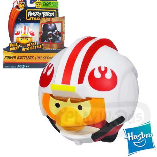 【Playwoods】[憤怒鳥ANGRY BIRD]星際大戰 憤怒鳥迴力車戰鬥組 天行者路克鳥Luke Skywalker(孩之寶/達斯維德Darth Vader/射擊/人氣APP改編)