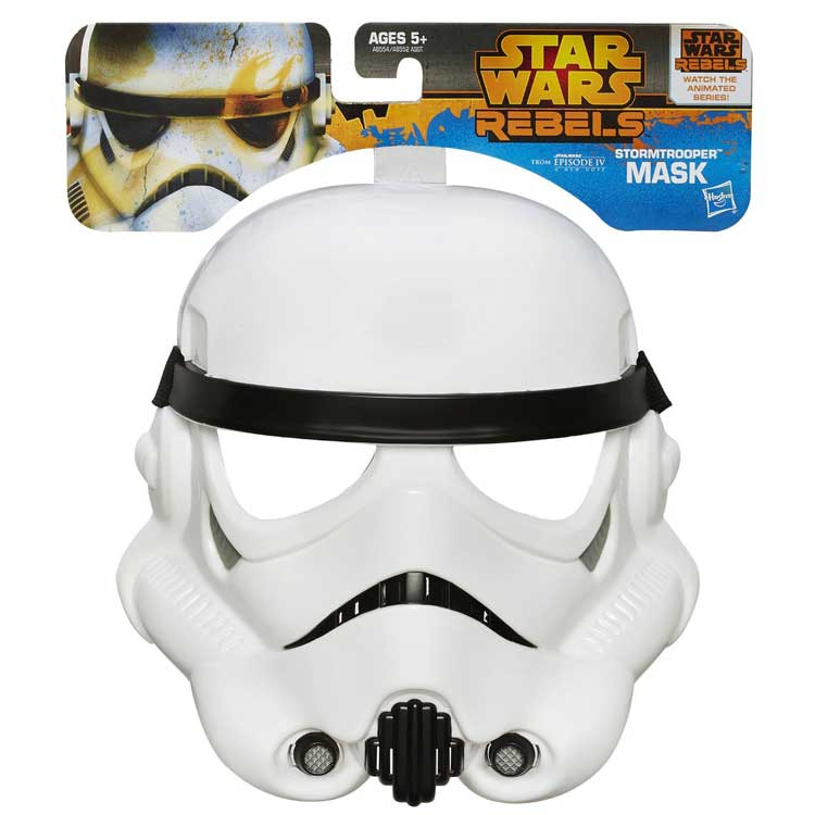 【Playwoods】[星際大戰StarWars]反叛軍之戰系列:帝國風暴兵面具Stormtrooper(星球大戰/孩之寶Hasbro/科幻/宇宙戰爭/Disney迪士尼/電視動畫/反抗軍起義/COSPLAY)