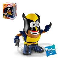 漫威英雄Marvel 周邊商品推薦【Playwoods】[兒樂寶PLAYSKOOL] PPW蛋頭組:金鋼狼 Mr. Potato Head - Wolverine (X戰警/孩之寶Hasbro/超級英雄Marvel/蛋頭先生)
