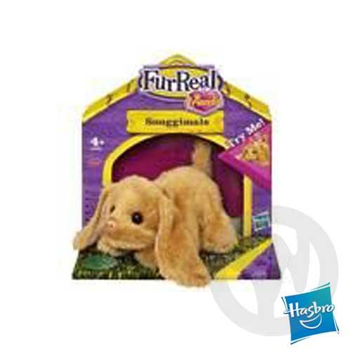 【Playwoods】[FurReal Friends] 親親寵物-迷你寵物組:長耳紅鼻puppy茶色可卡犬CockerSpaniel(搖尾巴)