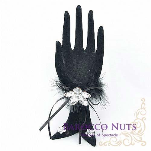 【Barocco Nuts】[飾品架]貴氣跟鞋戒指:黑魅名伶 跟鞋OK手(首飾架/戒指架/項鍊架/耳環架/飾品架/吊飾架/手環架)