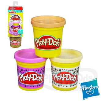 【Playwoods】[培樂多黏土PLAYDOH]補充罐-甜點系列 瑞士巧克力 香檳葡萄(3罐裝-孩之寶-兒童玩具)