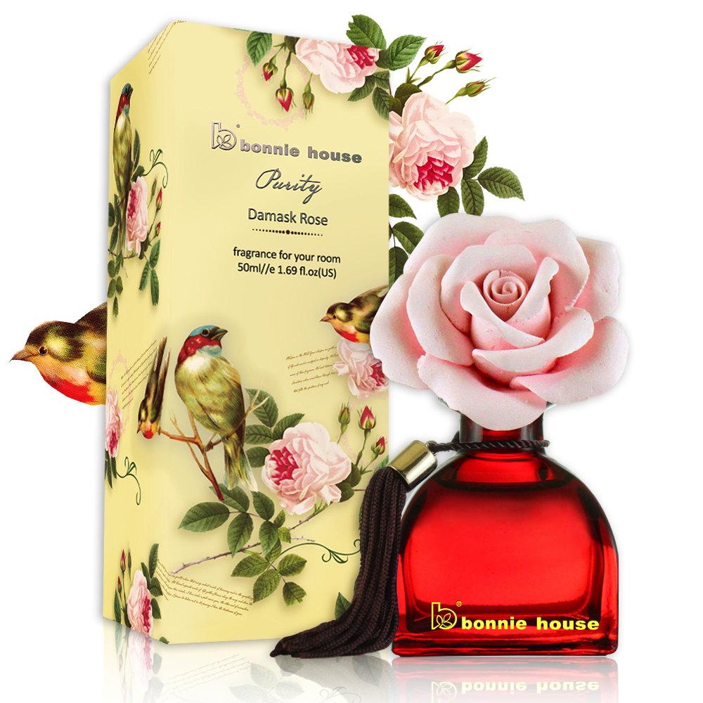 【Bonnie House】大馬士革玫瑰瓷擴香50ml